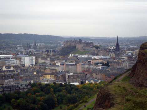 Edinburgh and the Castle