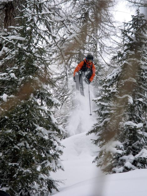 MD sending it in the trees!